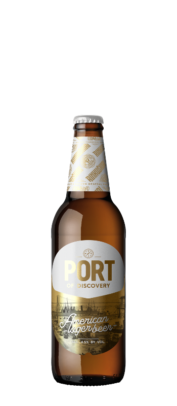 PORT OF DISCOVERY AMERICAN LAGER
